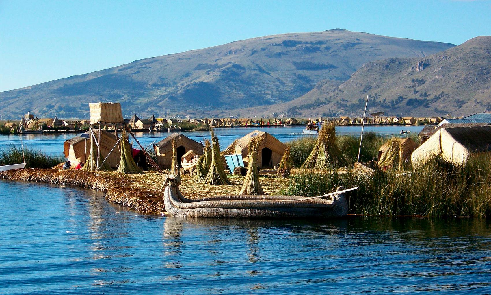 Lake Titicaca from Cusco